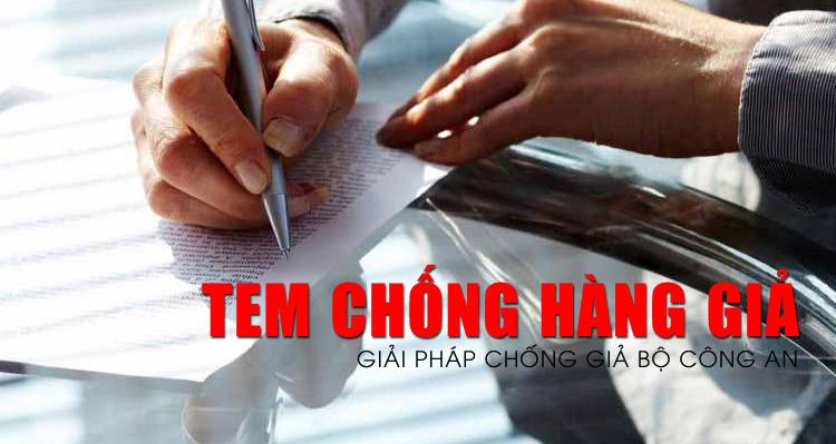 Tem chống giả Bộ Công An - Giải pháp bảo vệ sản phẩm hữu hiệu