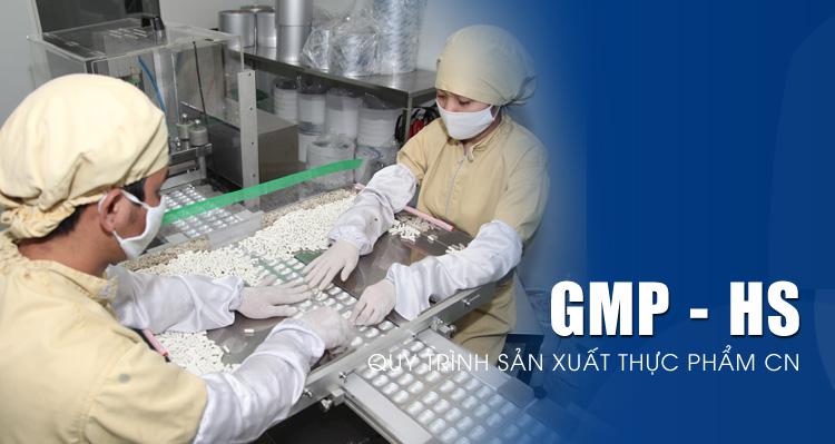 Thực hành sản xuất tốt (GMP) thực phẩm bảo vệ sức khỏe (Health Supplements)